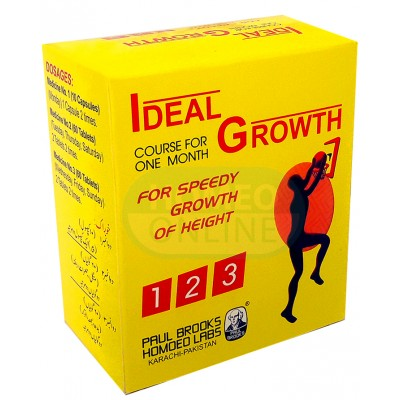 Ideal Growth Tablets: A Complete Course For Increasing The Height Naturally