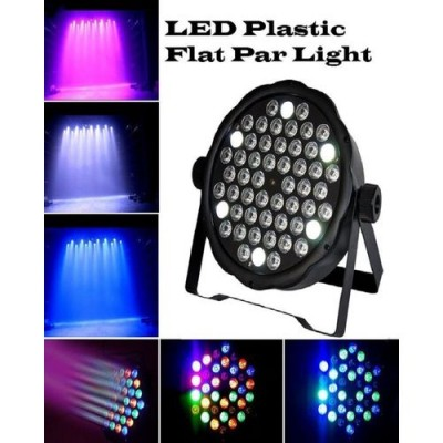 LED Plastic Flat Party Light-Black