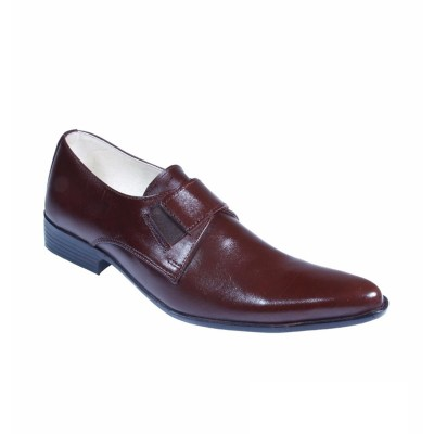 Brown Formal Leather shoes-L1034C