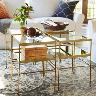 Leona Cube Coffee  Table Furniture