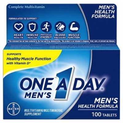 One A Day Men'S Multivitamin 100 Tablets