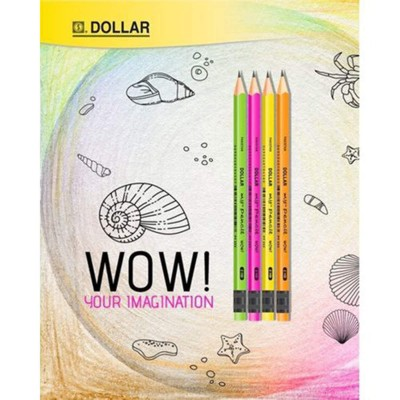Pack Of 12 - My Pencil Wow! With Eraser