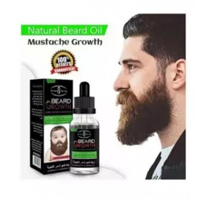 Natural Beard Oil For Mustache Growth & Hair Loss Treatment