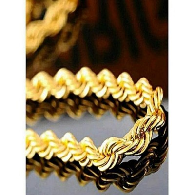 PACK OF 2 GOLD PLATED CHAIN FOR WOMEN