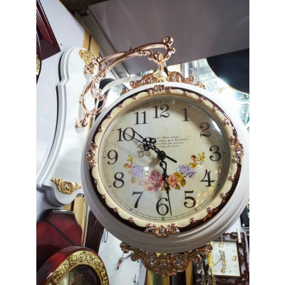 Wall Clock Double Sided 2 ClocksImported FANCY