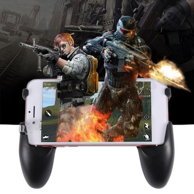 5 In 1 Mobile Phone Gamepad Joystick Controller L1 R1 Fire Shooter Buttons Trigger Handle For Pubg For Iphone Android