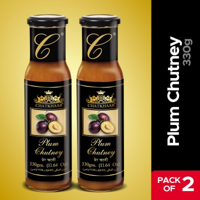 Pack Of 2 Plum Chutney 330 Gm