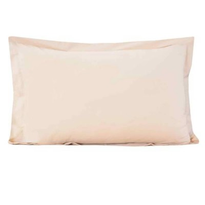 Beige Cotton Pillow Covers-1000000001090