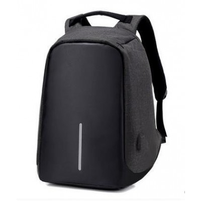 Black Backpack High Quality Polyester Student School Female Male Computer High Capacity Travel Bag