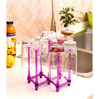 Foldable and Portable Glass Rack-AZ-018