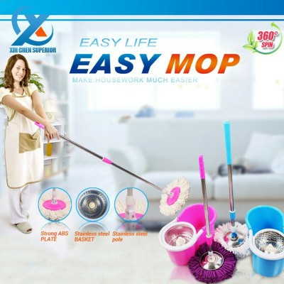 Easy Mop, Magic Mop 360 Degree Rotating MOP for Home and Office Cleaning