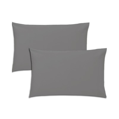 Pillow Cover Jersey-Fitted Cotton Grey