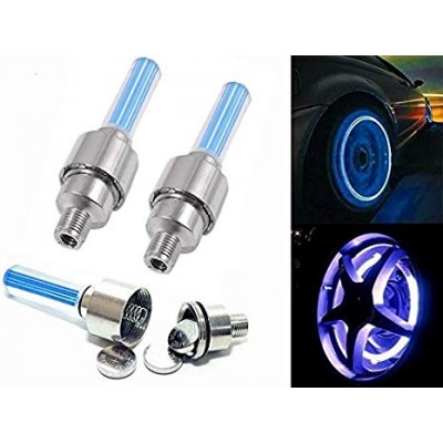 Cycle Bike Car Tyre Valve Cap Led Light 2 Pcs