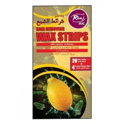 Lemon and Honey Wax Strips-Pack of 20
