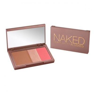 Naked Flushed Palette: Bronzer, Highlighter