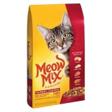 Meow Mix Cat Food Pouch Hairball Control 1.43kg