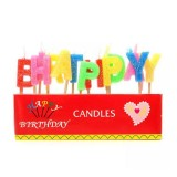 Party Time Alpahbet Birthday Candle pkt