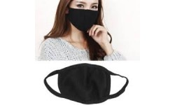 Anti Dust Pollution Face Mask - 1Pcs - Black