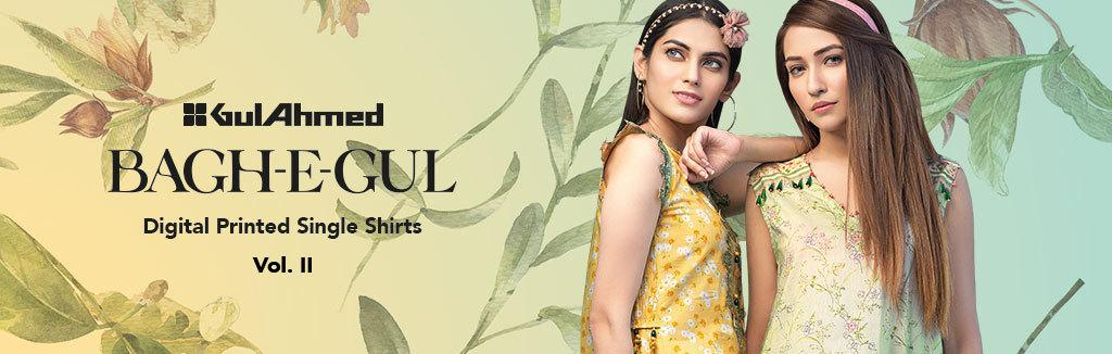 38e7d5c10dacd Gul Ahmed Summer Lawn Collection 2019 Online in Pakistan - Yayvo.com